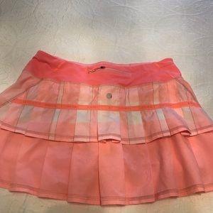 Lulu lemon pleated skirt